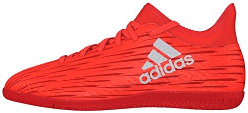 adidas Jungen X 16.3 in J Fußballschuhe Orange (solar Red/silver Metallic/hi-res Red)