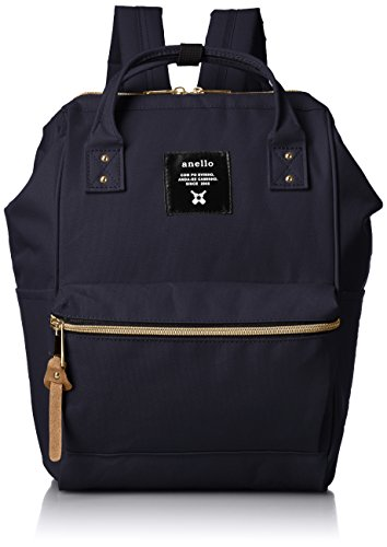 - [Anero] [Official] Poly Canvas Cap Mini Backpack AT-B0197B Navy