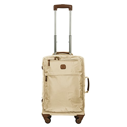 Bric's X Travel 2.0 21 inch International Carry on Spinner, Ecru by Bric's