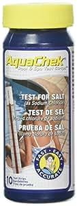 AquaChek 561140A White Salt Titrators Test Strip for Swimming Pools