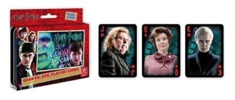 Cartamundi Harry Potter Good vs. Evil 2-Deck Tin ()
