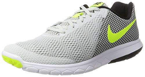Nike Flex Experience Rn 6, Sneakers para Hombre, Nero / Arancione Blanco (Pure Platinum/volt/black/white)