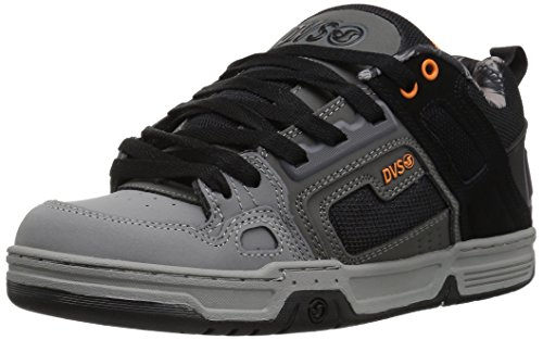 Charcoal Grey Men's Deegan Black Nubuck Comanche DVS UfwIqxStq