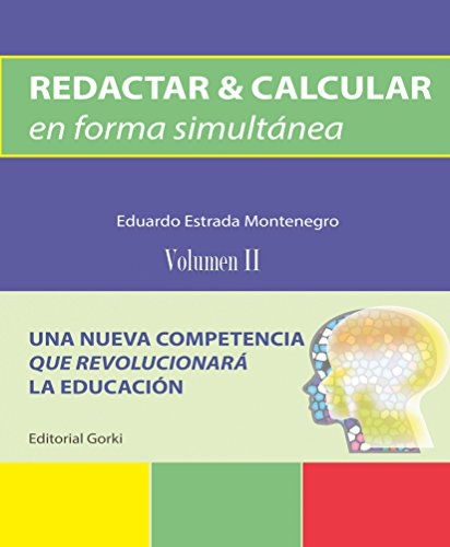 Descargar Libro Redacatr & Calcular En Forma Simultánea: Una Nueva Competencia Eduardo Estrada Montenegro