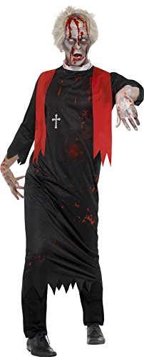 [Black Zombie High Priest Costume] (High Priest Zombie Costumes)