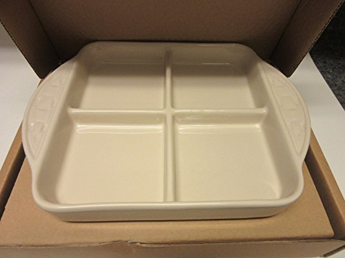 Longaberger 8 x 8 Divided Lid Serving Tray