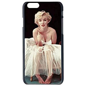 Fashion Custom Marilyn Monroe Barefoot Design Plastic Hard Case Cover Back Skin Protector For Apple iPhone 6G Plus 5.5 by Alexism Size115