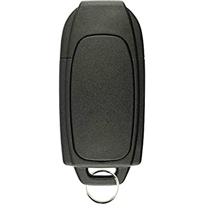 KeylessOption Keyless Entry Remote Control Uncut Blank Car Ignition Key Fob Replacement for LQNP2T-APU: Automotive