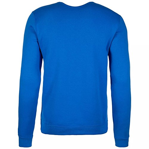 Nike Flc Blue Nsw Homme Signal cappuccio Crw M con Hbr Felpa 047EwUxq