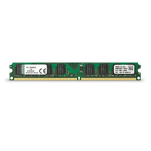 Kingston Technology 2 GB DIMM Memory 2 667 MHz (PC2 5300) 240-Pin DDR2 SDRAM Single (Not a kit) ()