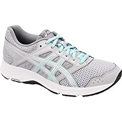 ASICS Gel-Contend 5 Women's Running Shoe, Mid Grey/ICY Morning, 8.5 M US