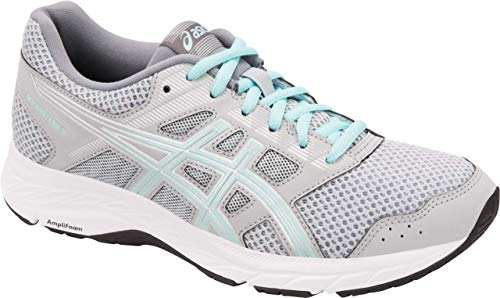 ASICS Gel-Contend 5 Women's Running Shoe, Mid Grey/ICY Morning, 5 W US