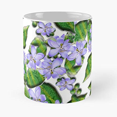Summer Flower Magnolia Parfum - White -coffee Mug- Unique Birthday Gift-the Best Gift For Holidays- 11 Oz.