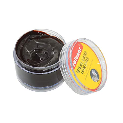 ther Conditioner,Shoe Polish Cream,75g,Brown,Nano-Tech|Softens|Cleaning|Color Restores|Mildew proof for Leather Jackets, Boots,Shoes,Couchs,Sofa,etc ()