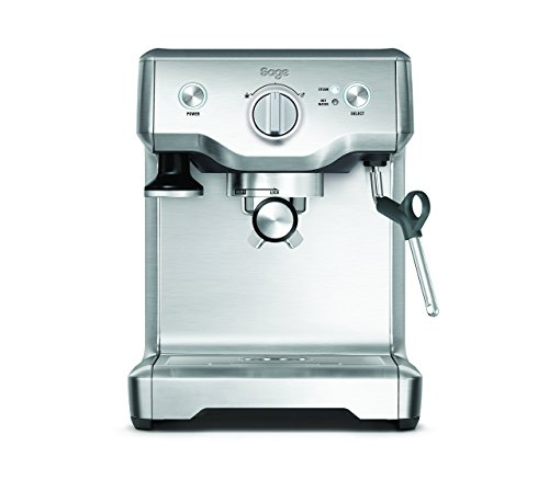 Sage by Heston Blumenthal the Duo Temperature Pro Coffee Machine, 1700 W - Silver