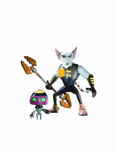 DC Unlimited Ratchet  and  Clank: Series 2: Azimuth with Orvus Action Figure (Ratchet And Clank Quest For Booty Weapons)