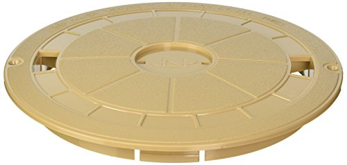 Custom Molded Products 25544-019-000 Round Skimmer Cover Tan