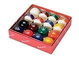 Aramith Continental 2 1/4'' Billiard Regulation Pool Ball Set/16 Balls