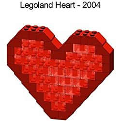 Lego Valentines Day Heart Mini Model Parts & Instructions Kit