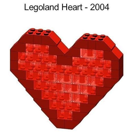 Amazon.com: Lego Valentines Day Heart Mini Model Parts ...