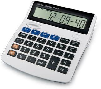 Profesional XXL Parlante Calculadora con voz mesa calculadora ...