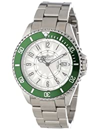 Breytenbach Unisex BB2810Gr Classic Analog Colored Bezel Watch