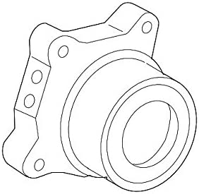 Toyota 04002-4310C Axle Shaft Bearing