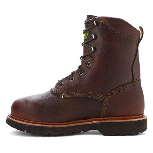 Jd9362 John Deere Heren Met Veiligheidslaarzen - Royal Oak Brown