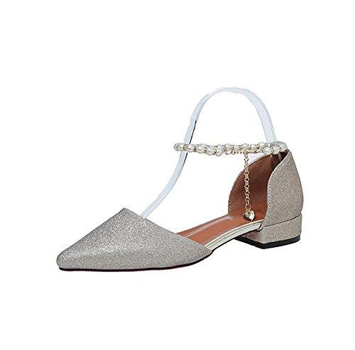 Wort-style Gürtelschnalle Sandalen Frauen wulstige Schuhe erhöht B