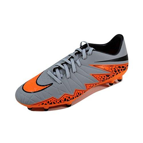 Nike Hypervenom Hommes Phelon Ii Fg Chaussures De Course De Formation De Gris