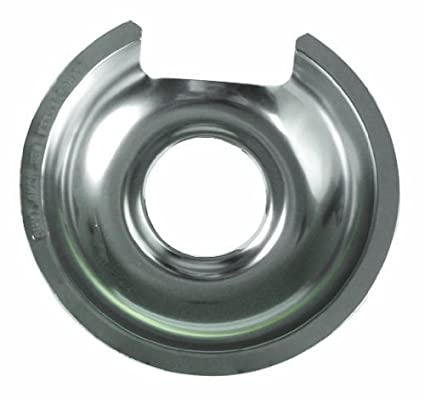 Camco 00553 8 GE//Hotpoint Hinge Reflector Pan Black