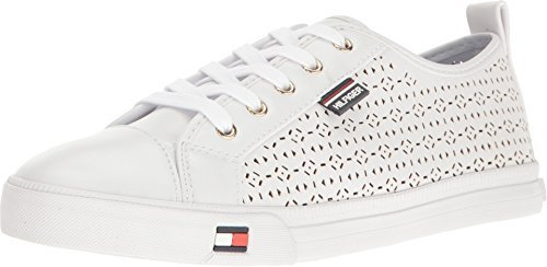 G by GUESS  Women's Olisa White Nappa PU Oxford