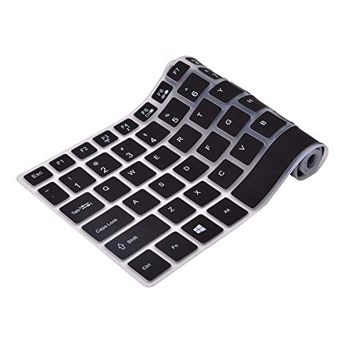 Saco Keyboard Silicon Protector for HP Pavilion 15-cs0053cl 15.6 inch Laptop -Transparent