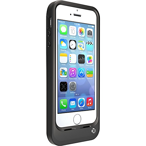 OtterBox Resurgence Power/Battery Case for Apple iPhone 5s - Retail Packaging - BLACK (BLACK/BLACK)