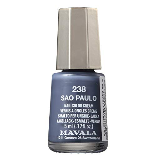 MAVALA MINI COLOR 5ML SAO PAULO N238, Mavala, Cinza