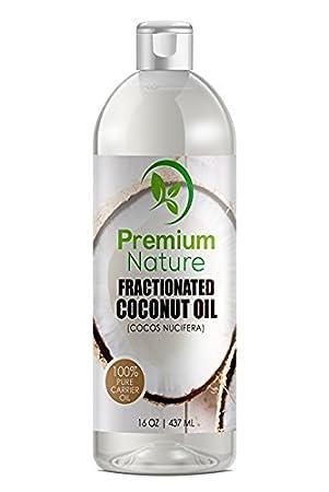 Fractionated Coconut Oil Massage Oils - Liquid MCT Natural