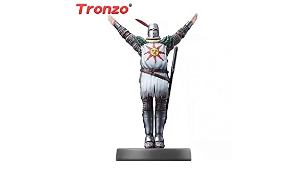 Tronzo Game Dark Souls Solaire of Astora Sun Warrior PVC Action Figure Modèle Jouets Dark Souls Remastered Solaire Figurine Gifts: Amazon.es: Juguetes y juegos