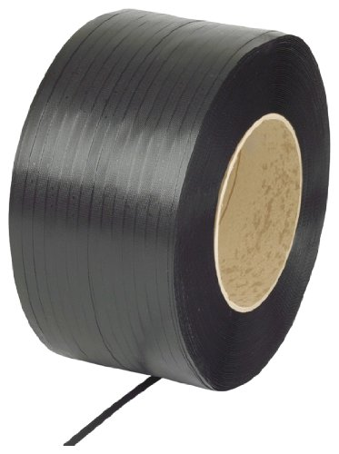PAC Strapping 68H.10.2145 Polypropylene Heavy Duty Hand Grade Strapping, 4,500' Length, 3/4'' Width, Black by PAC Strapping Products