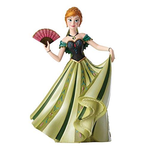 "Jim Shore for Enesco Disney Showcase Anna Couture Deforce Figurine, 8"""