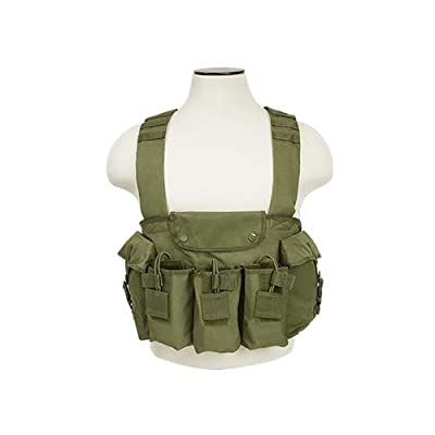 VISM CVAKCR2921G Ak Chest Rig - Green