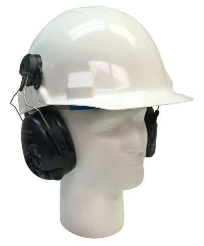 3M Peltor MT15H7P3E SV Tactical Pro Listen-Only Hard Hat Mount, Hearing Protection, Ear Protection, NRR 22 dB, Ideal for gun ranges, forklift drivers, airport ground personnel, and maintenance mechanics by 3M