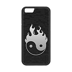 Yin Yang Phone Case And One Free Tempered-Glass Screen Protector For iPhone 6,6S Plus 5.5 Inch W58292