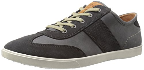 Ecco Men's Collin Retro Fashion Sneaker - Moonless/Moonle...