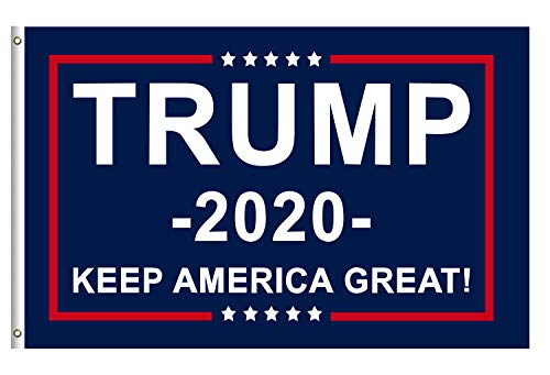 (Donald Trump for President 2020 Keep America Great Flag 3x5 Feet with Grommets)