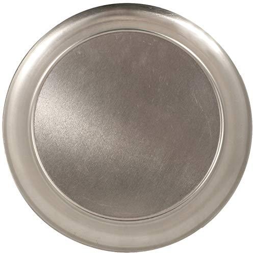 Crestware Aluminum Pizza Tray with Pan Scraper (8 Inch, - Serving Pizza Aluminum Tray
