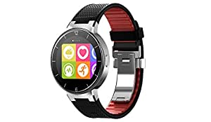 "Alcatel OneTouch Watch - Smartwatch (pantalla 1.22"", 512 MB RAM, Chipset STM429, Android 4.3), negro y rojo"