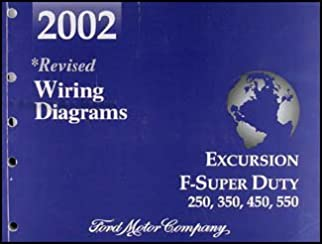 2002 ford excursion super duty f250 f350 f450 f550 wiring diagram