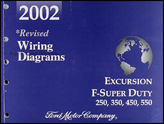 2002 ford excursion super duty f250 f350 f450 f550 wiring diagram 2002 ford excursion super duty f250 f350 f450 f550 wiring diagram manual ford amazon com books