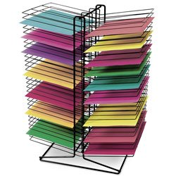 Nasco Back-to-Back 60-Shelf Table Drying Rack - Arts & Craft