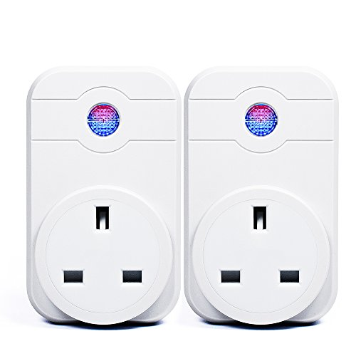 2Pcs-Wi-Fi-Smart-UK-Plug-Alexa-Horsky-Remote-Control-Switch-Socket-Controlling-Lights-and-Appliances-from-Phone-Wireless-Working-with-Amazon-Alexa-Echo-Google-Home